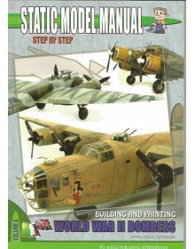World War II Bombers, Static Model Manual Vol. 8, Auriga
