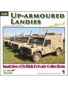 Up-armoured Landies in detail, WWP