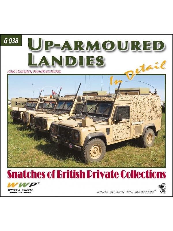 Up-armoured Landies in detail book by Wings & Wheels Publications