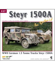 Steyr 1500A in detail, WWP