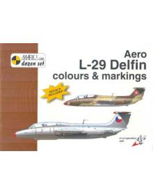 Aero L-29 Delfin Colours & Markings 1/72, Mark I