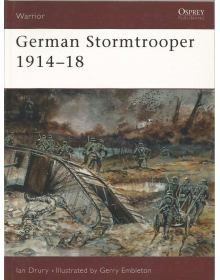 German Stormtrooper 1914-18, Warrior 12, Osprey