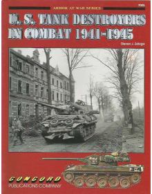 US Tank Destoyers in Combat 1941-1945, Armor at War 7005, Concord