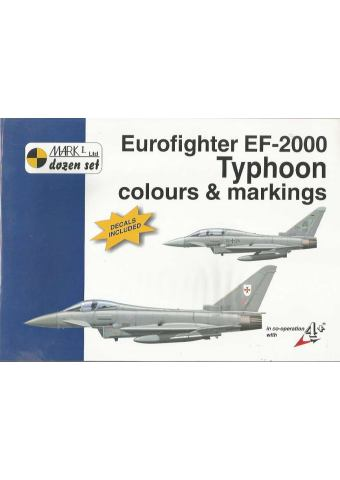 Eurofighter EF-2000 Colours & Markings 1/72, Mark I