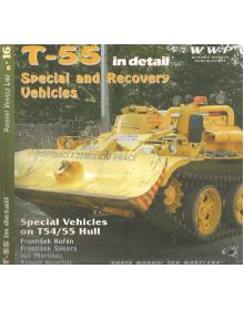 T-55 Special & Recovery Vehicles, WWP