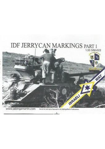 IDF Jerry Can Markings Part 1
