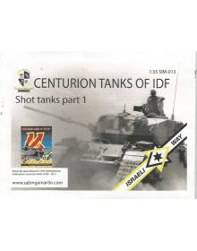 Centurion tanks of IDF - Part I