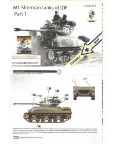 M1 Sherman Tanks of IDF - Part 1
