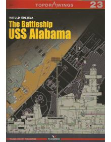 The Battleship USS Alabama, Topdrawings No 23, Kagero