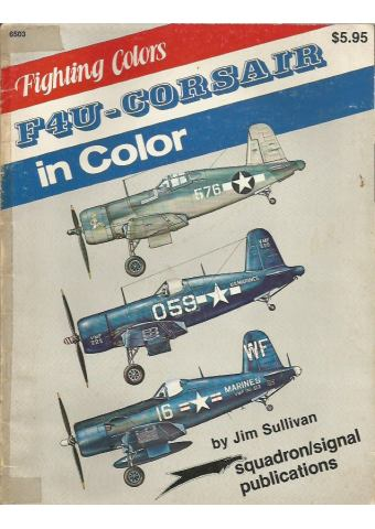 F-4U Corsair in Color, Squadron/Signal