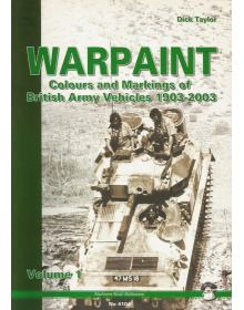 Warpaint Volume 1: Colours and Markings of British Army Vehicles 1903-2003, Mushroom