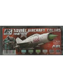 Soviet Aircraft Colours 1950-1970, AK Interactive