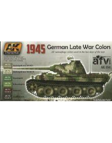 1945 German Late War Colors, AK Interactive