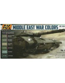 Middle East War Colors, AK Interactive