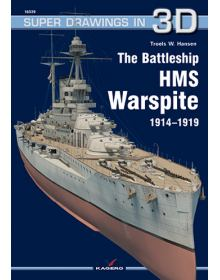 The Battleship HMS Warspite, Super Drawings in 3D No 39, Kagero