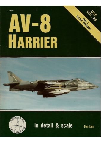 AV-8 Harrier - Part 1, In Detail & Scale 28