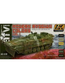 Modern Russian Colors Vol I, AK Interactive