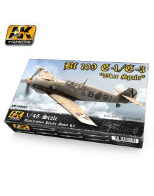 1/48 Bf 109 E-1/E-3 ''Over Spain'', AK Interactive
