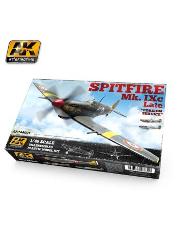 1/48 Spitfire Mk. IXc Late ''Foreign Service'', AK Interactive