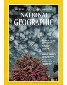 National Geographic Vol 159 No 01 (1981/01)