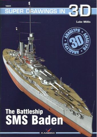 SMS Baden, Super Drawings in 3D No 43, Kagero