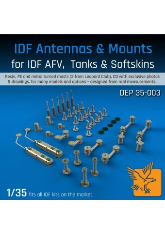 IDF Antennas & Mounts - 1/35
