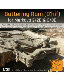 Battering Ram for Merkava 2/2D & 3/3D - 1/35