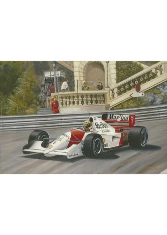 ''The Prince of Monaco'' art print
