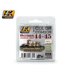 German Standard Color Combo 1944-45, AK Interactive