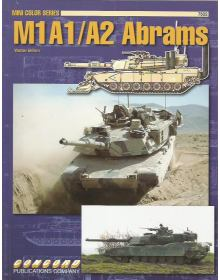M1A1/A2 Abrams, Mini Color Series 7502, Concord