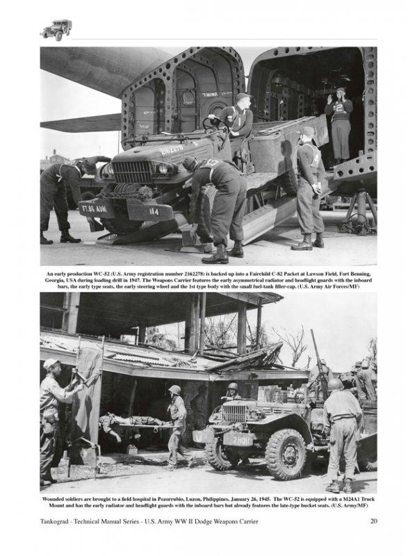 u s ww ii dodge wc 51 wc 52 weapons carrier book 6031 by tankograd rh discounthobbyzone com Dodge WC57 Dodge WC57