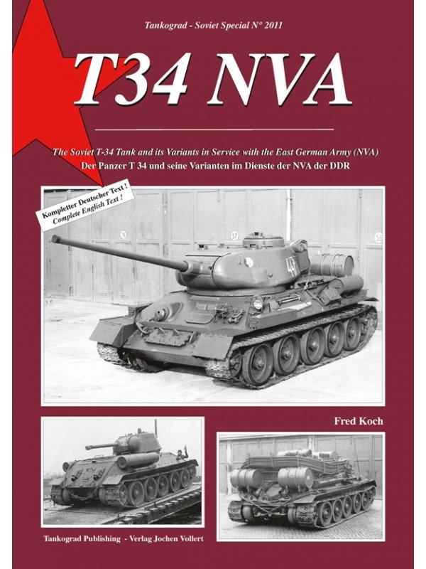 Tankograd 2011 T-34 NVA und seine Varianten in der NVA der DDR NEU /&
