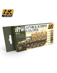 Afrika Corps Color Set, AK Interactive
