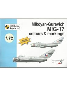 MiG-17 Colours & Markings 1/72, Mark I