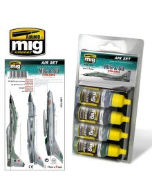 MiG & SU Colors - Grey & Green Fighters, AMMO