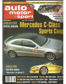 Auto Motor und Sport 2001 No 06, Mercedes C-Class Sports Coupe