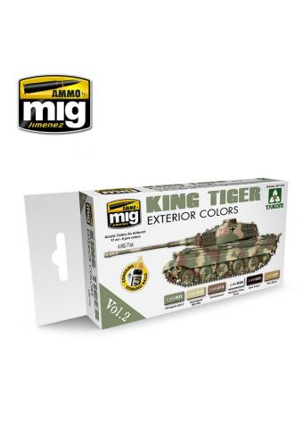 King Tiger Exterior Colors, AMMO