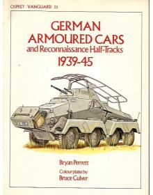 German Armoured Cars and Reconnaissance Half-Tracks, Vanguard 25