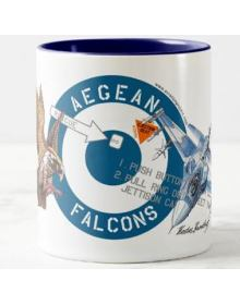 F-16 Block 52+ ''Aegean Falcons'' Mug