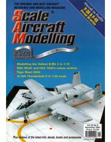 Scale Aircraft Modelling 2003/11 Vol 25 No 09