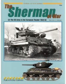 The Sherman at War (2), Armor at War no 7036, Concord