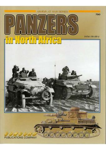 Panzers in North Africa, Armor at War no 7043, Concord