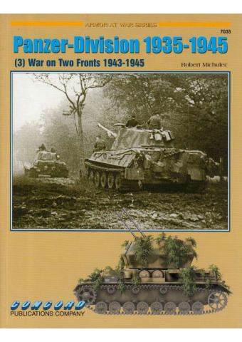 Panzer-Division 1935-1945 (3), Armor at War no 7035, Concord