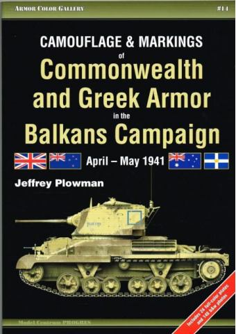 Camouflage and Markings of Commonwealth and Greek Armor in the Balkans Campaign