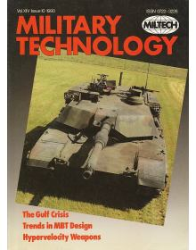 Military Technology 1990 Vol XIV Issue 10