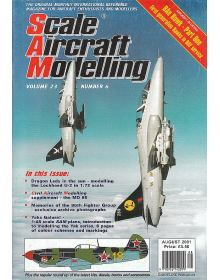 Scale Aircraft Modelling 2001/08 Vol 23 No 06