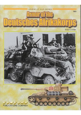 Armor of the Deutsches Afrikakorps, Armor at War no 7021, Concord