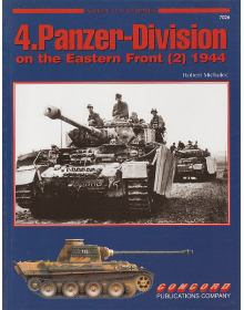 4.Panzer-Division on the Eastern Front (2), Armor at War no 7026, Concord