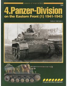 4.Panzer-Division on the Eastern Front (1), Armor at War no 7025, Concord