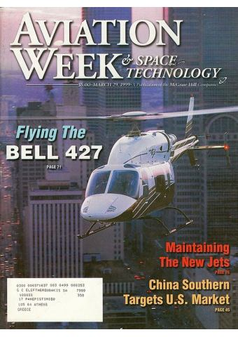 Aviation Week & Space Technology 1999 (March 29)